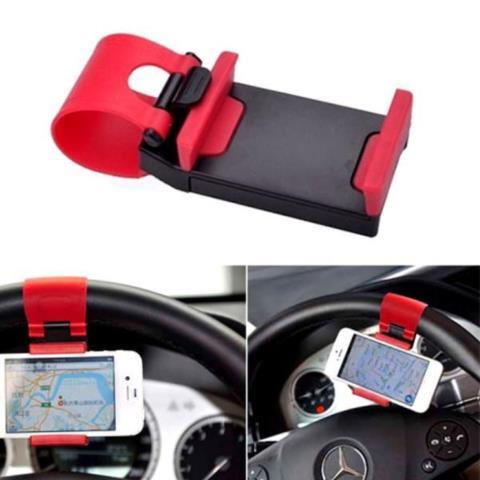 Держатель Телефона На Руль Car Steering Wheel Phone Socket Holder Черный в санкт петербурге, Сервисный центр K-Mobiles Center