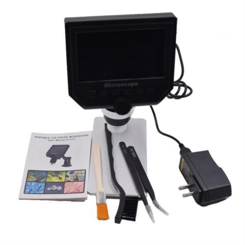 """1-600x 3.6mp USB цифровой электронный микроскоп Портативный 8 светодиодов vga микроскоп с 4.3 """"HD OLED Экран для печатной плате ремонт, сервисный центр K-Mobiles center"""